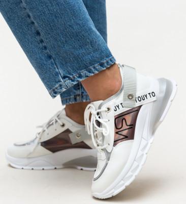 Pantofi Sport Verdana Argintii