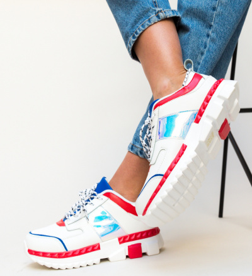 Pantofi Sport Rhona Rosii