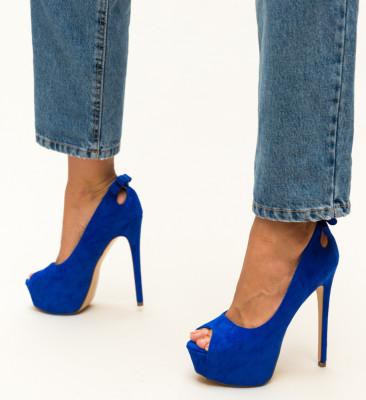 Pantofi Huda Albastri