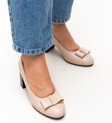 Pantofi Amon Bej