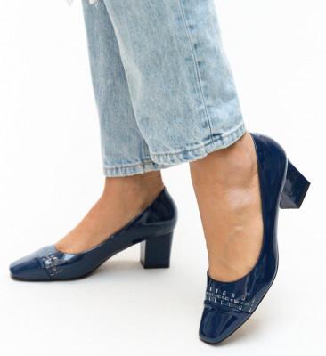 Pantofi Meg Bleumarin