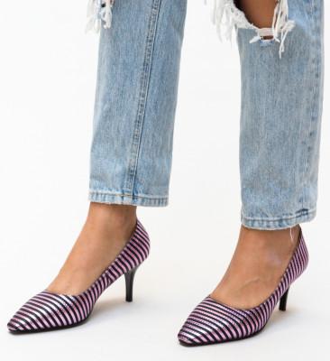 Pantofi Allan Mov