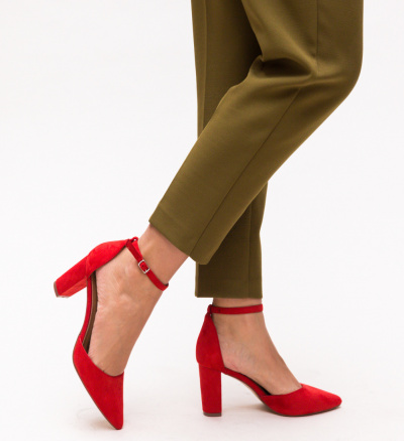 Pantofi Genesis Rosii