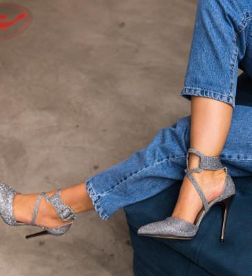 Pantofi Bruno Argintii 2