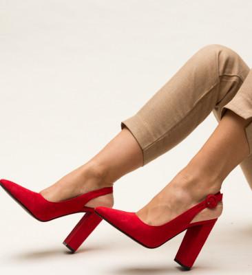 Pantofi Galvan Rosii