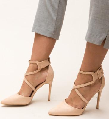 Pantofi Hebe Nude