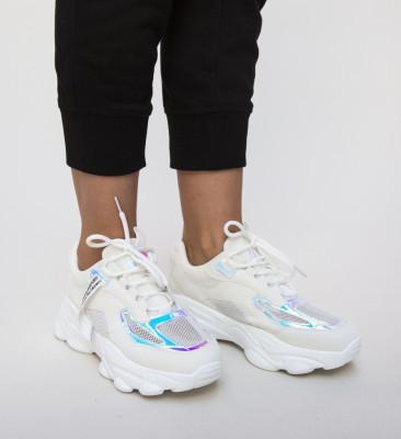 Pantofi Sport Mazie Albi
