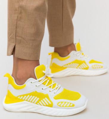 Pantofi Sport Portic Galbeni