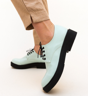 Pantofi Casual Masco Turcoaz