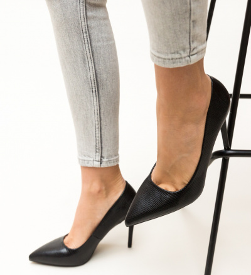 Pantofi Mirial Negri