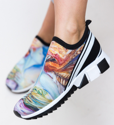 Pantofi Sport Daviv Albastri