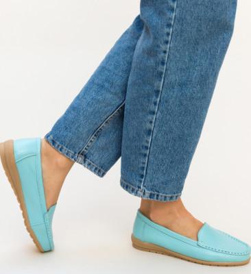 Pantofi Casual Leida Bleu