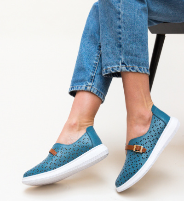 Pantofi Casual Vicez Albastri