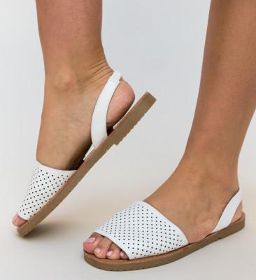 Sandale Peck Albe