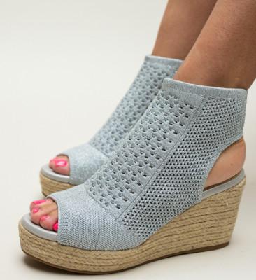 Sandale Wasim Argintii