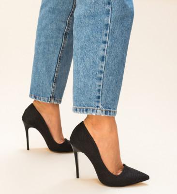 Pantofi Jendo Negri