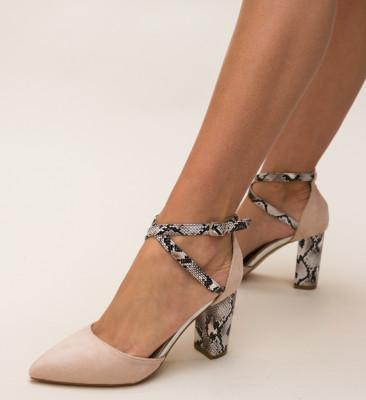 Pantofi Piperco Bej