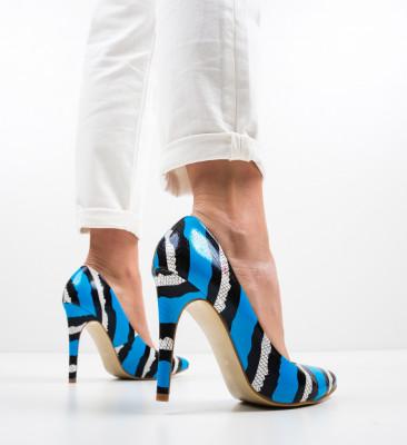 Pantofi Aleah Albastri