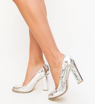 Pantofi Aniel Argintii