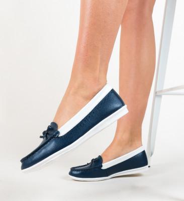 Pantofi Bordo Bleumarin