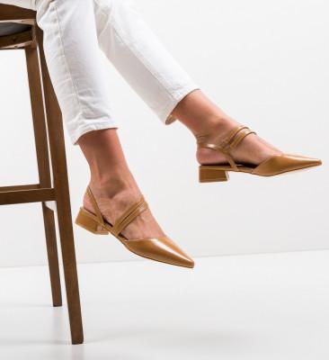 Pantofi Brad Camel
