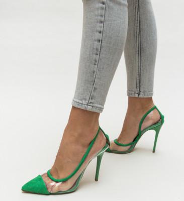 Pantofi Brennan Verzi