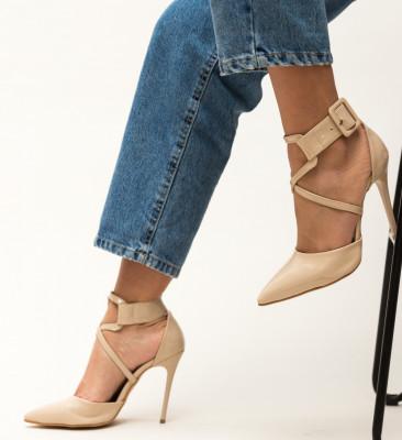 Pantofi Bruno Bej