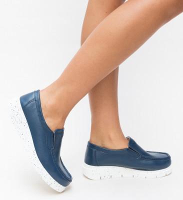 Pantofi Casual Adelin Bleumarin
