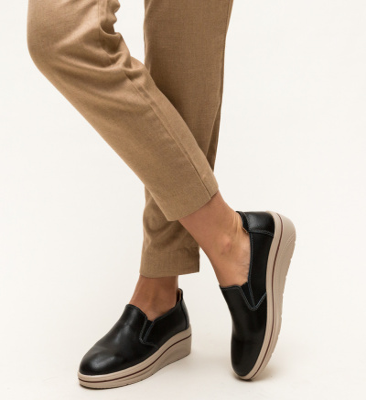 Pantofi Casual Alpino Negri