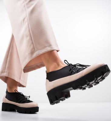 Pantofi Casual Asher Bej 2