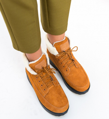 Pantofi Casual Blind Camel