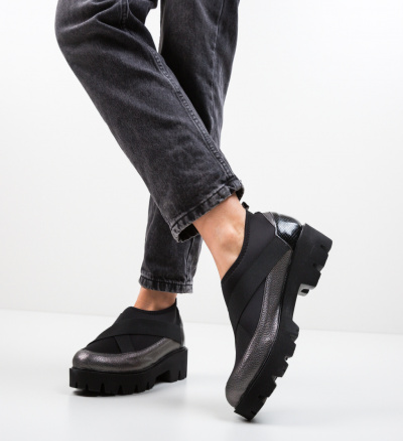 Pantofi Casual Buse Gri