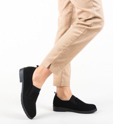 Pantofi Casual Correa Negri