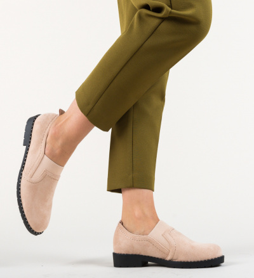 Pantofi Casual Correa Roz