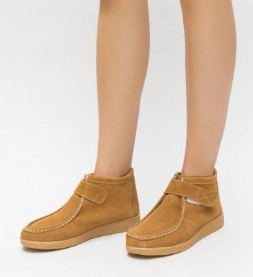 Pantofi Casual Cronic Camel
