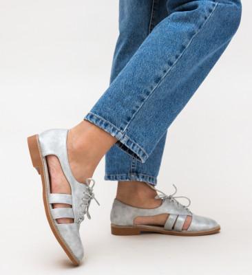 Pantofi Casual Elize Argintii