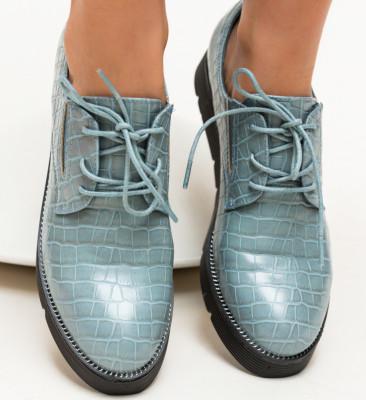 Pantofi Casual Erto Albastri