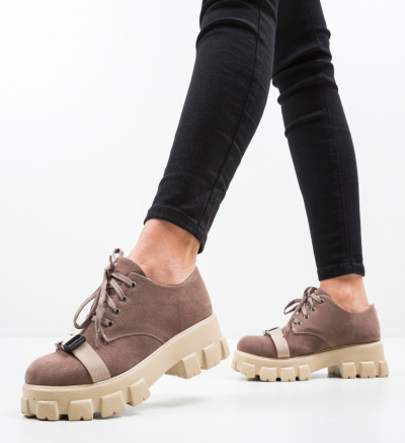 Pantofi Casual Gibraltar Bej