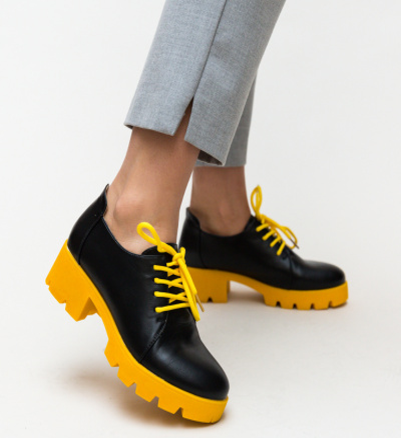 Pantofi Casual Hapino Galbeni
