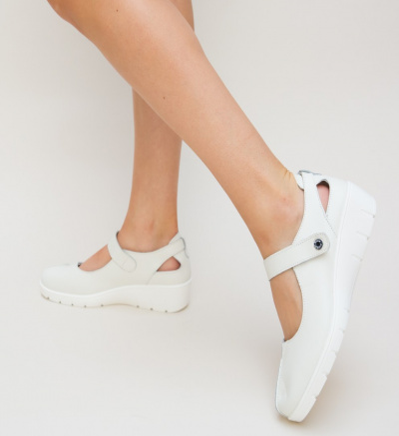 Pantofi Casual Hiso Albi