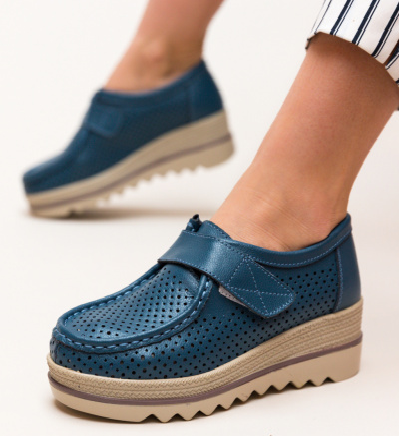 Pantofi Casual Histria Albastri