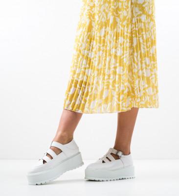 Pantofi Casual Karagam Albi