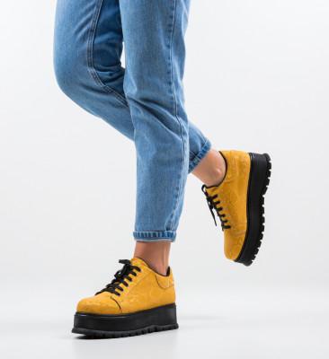 Pantofi Casual Kislev Galbeni
