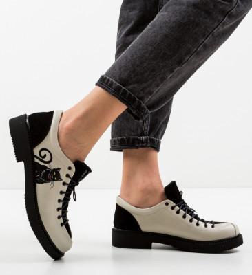 Pantofi Casual Kitty Bej