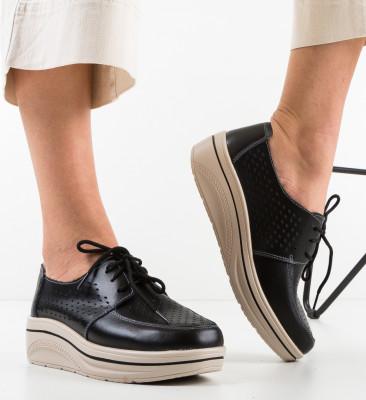 Pantofi Casual Litiani Negri
