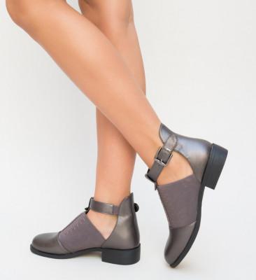 Pantofi Casual Loreta Gri