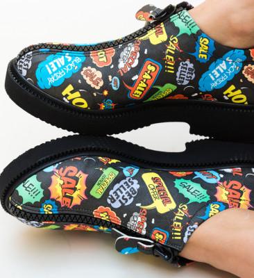 Pantofi Casual Lukoni Multi