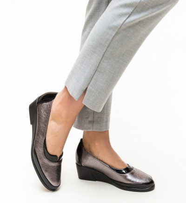 Pantofi Casual Lya Gri 2