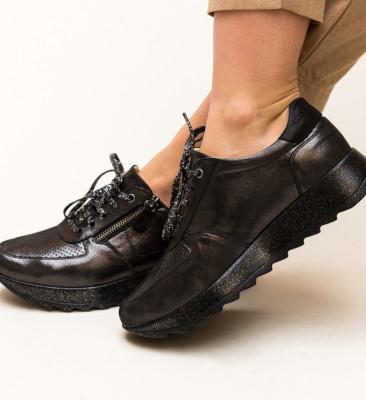 Pantofi Casual Poxiter Negri