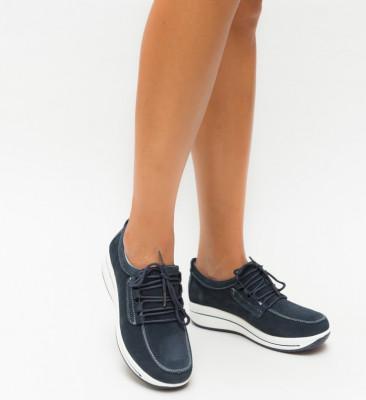 Pantofi Casual Ronto Gri